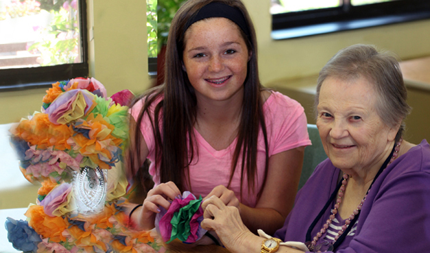 Volunteering and other elderly care services � Luther Woods